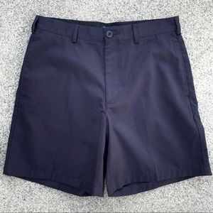 Land's End Navy Blue Traditional Fit Shorts   31